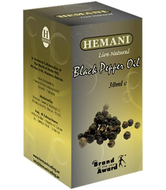Zwarte Peper Olie Hemani